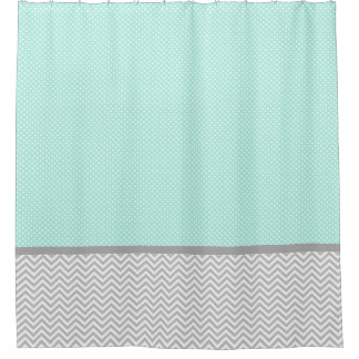 Mint Green Shower Curtains