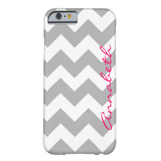 Gray Chevron iPhone 6 Barely There iPhone 6 Case