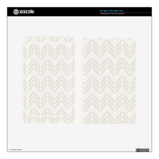 Gray Chevron Pattern Kindle Fire Skins