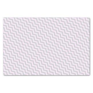 "Gray Chevron Pattern on Pale Pink 10"" X 15"" Tissue Paper"