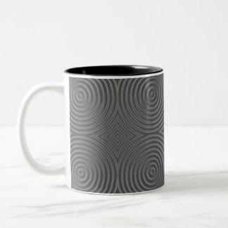 Gray circles design. Modern Pattern. Mug
