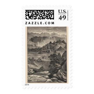Gray Cliffs Postage Stamp