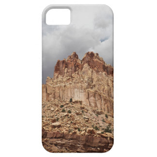 Gray Clouds and Red Earth iPhone 5 Case