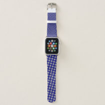 Gray Clover Ribbon by Kenneth Yoncich Apple Watch Band