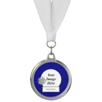 Gray Clover Ribbon Template by Kenneth Yoncich Medal