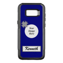 Gray Clover Ribbon Template by Kenneth Yoncich OtterBox Commuter Samsung Galaxy S8  Case