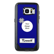 Gray Clover Ribbon Template by Kenneth Yoncich OtterBox Samsung Galaxy S7 Edge Case