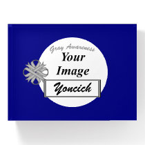Gray Clover Ribbon Template by Kenneth Yoncich Paperweight