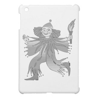 Gray clown with torch cover for the iPad mini