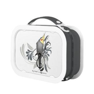 Gray Cockatiel Yubo Lunch Box