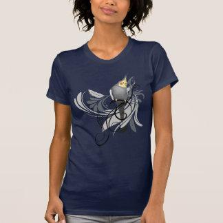 Gray Cockatiel Tee Shirts