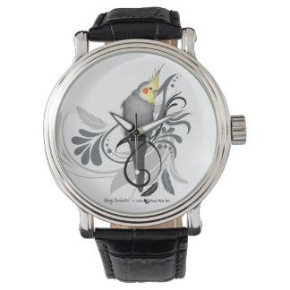 Gray Cockatiel Watch