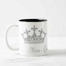 Gray Crown Mother's Custom Mug