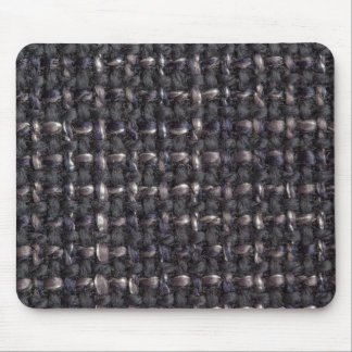 Gray, dark blue and black strings mouse pad