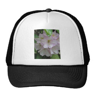 Gray Day and Pale Pink Rhododendron Flowers Trucker Hat