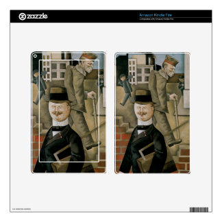 Gray Day Skins For Kindle Fire