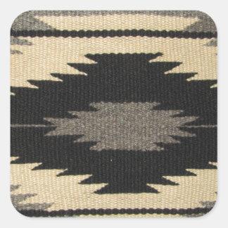 Gray Dazzler Square Sticker
