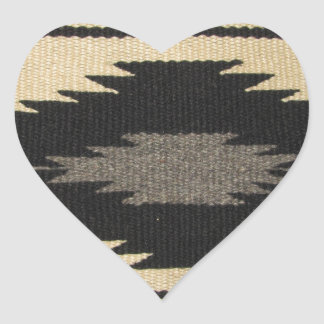 Gray Dazzler Heart Sticker