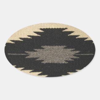 Gray Dazzler Oval Sticker