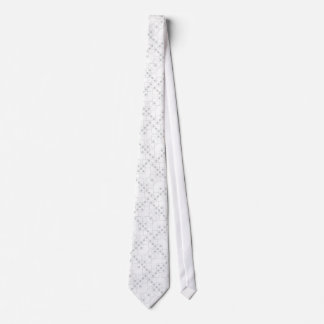 Gray Dice Neck Tie