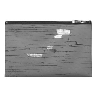 Gray Digital Art Graphic. Picture of Paint. Travel Accessory Bag