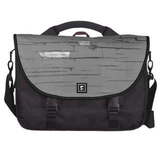 Gray Digital Art Graphic. Picture of Paint. Laptop Computer Bag