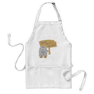 Gray Dont Drink & Drive Aprons