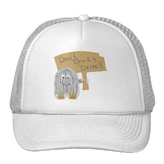 Gray Dont Drink Drive Trucker Hats