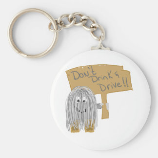 Gray Dont Drink Drive Key Chain