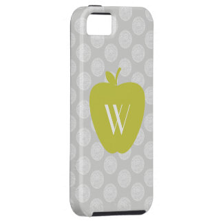 Gray Dots Yellow Apple iPhone 5 Case-Mate Case iPhone 5 Covers