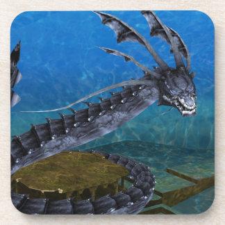 Gray Dragon Coasters