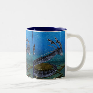 Gray Dragon Mug