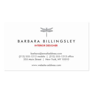 GRAY DRAGONFLY LOGO Designer Business Card
