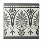 Gray Dresser Art Minton Palmette 1880 Tile Repro