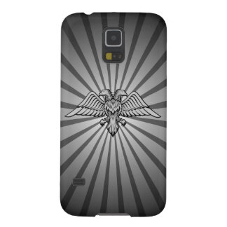 Gray eagle with two heads case for galaxy s5