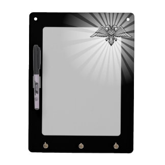 Gray eagle with two heads Dry-Erase board