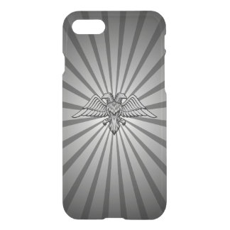 Gray eagle with two heads iPhone 8/7 case