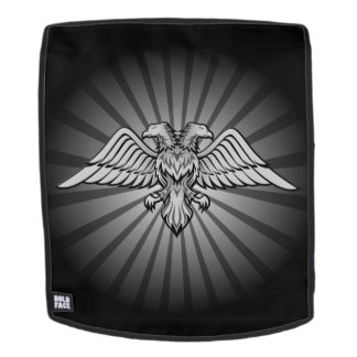 Gray eagle with two heads Two headed eagle, power Backpack
