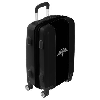 Gray eagle with two heads Two headed eagle, power Luggage