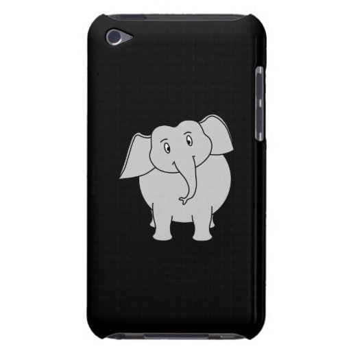 Gray Elephant. iPod Touch Case-Mate Case