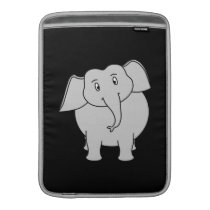 Gray Elephant. MacBook Sleeve