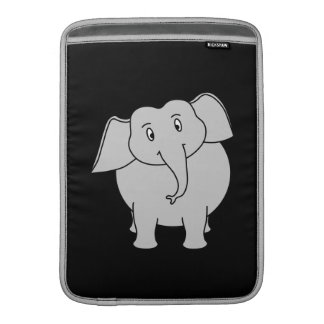 Gray Elephant. Sleeve For MacBook Air