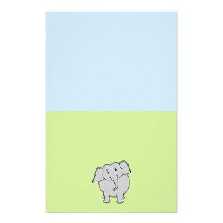 Gray Elephant Stationery