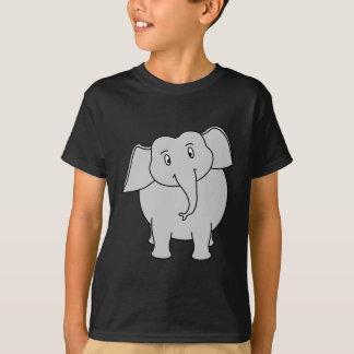Gray Elephant. T-Shirt