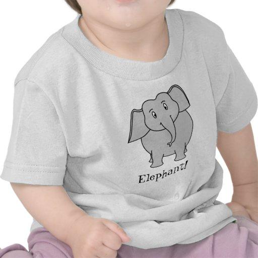 Gray Elephant Tshirts