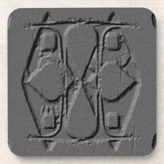 Gray Engraved Coaster