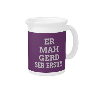 Gray Ermahgerd Pitcher
