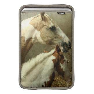 "Gray Eventing Horse 11"" MacBook Sleeve"