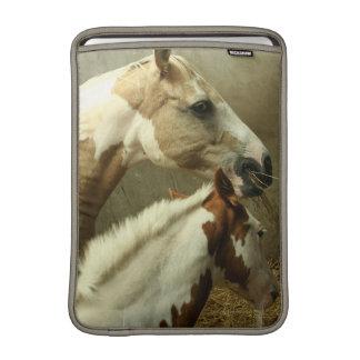 "Gray Eventing Horse 13"" MacBook Sleeve"