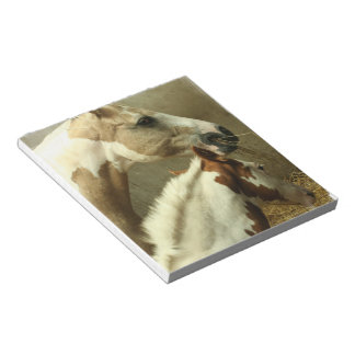 Gray Eventing Horse Notepad